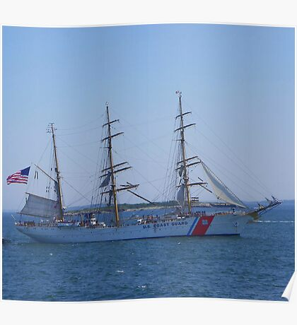 "US Coast Guard - Tall Ship ""Eagle"" Poster"