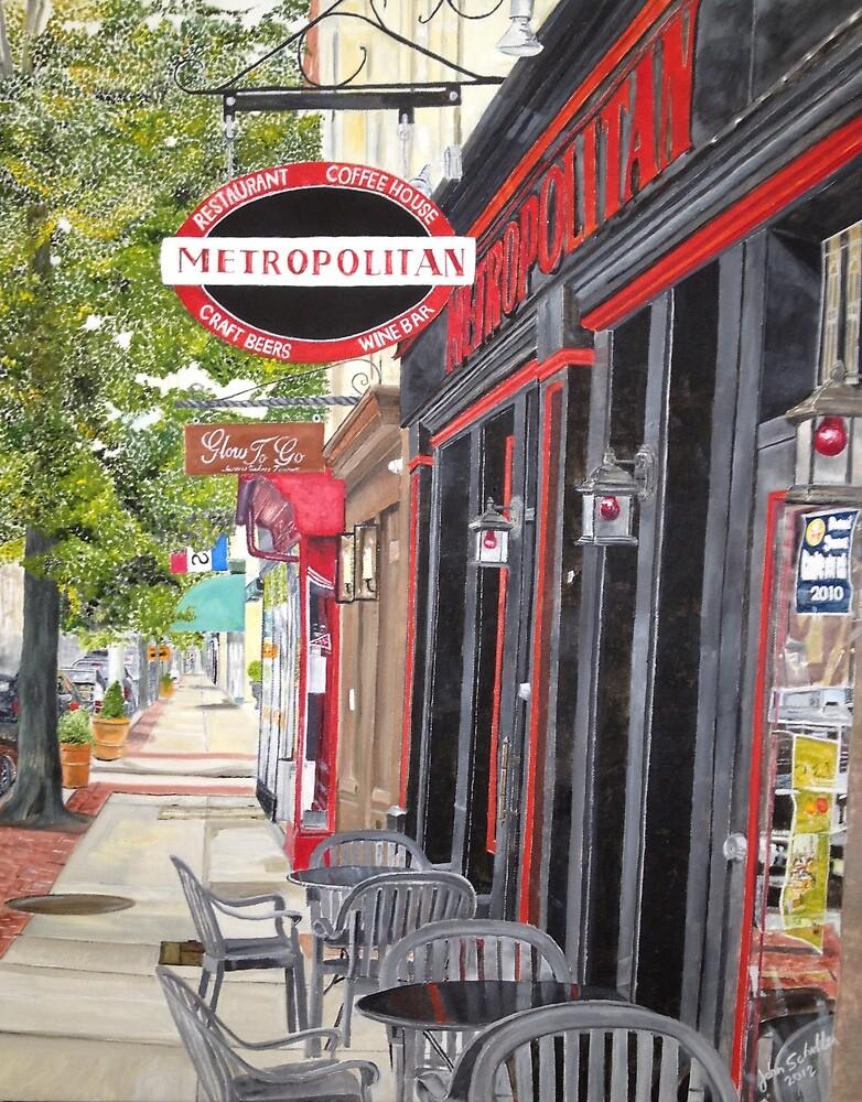 Metropolitan Cafe by John Schuller