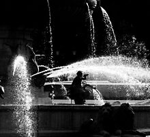 Fountains of Aix-en-Provence by William Rottenburg