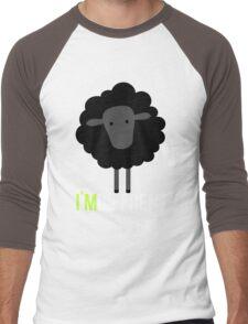 Black sheep - I'm Diffrent Men's Baseball ¾ T-Shirt