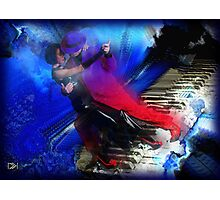 Rhapsody in Bue Photographic Print