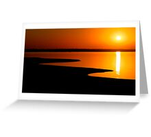 Henfer Sunset Greeting Card