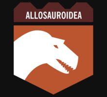 Dinosaur Family Crest: Allosauroidea Kids Clothes
