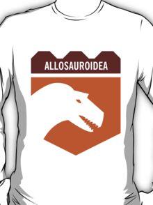 Dinosaur Family Crest: Allosauroidea T-Shirt