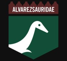 Dinosaur Family Crest: Alverezsauridae Kids Clothes