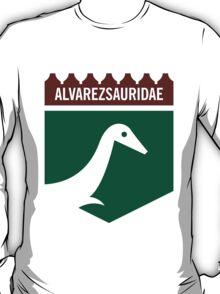 Dinosaur Family Crest: Alverezsauridae T-Shirt