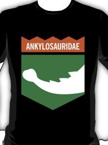 Dinosaur Family Crest: Ankylosauridae T-Shirt