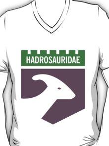 Dinosaur Family Crest: Hadrosauridae T-Shirt