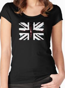 Black Britain Women's Fitted Scoop T-Shirt
