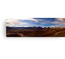 Denali Panorama Canvas Print