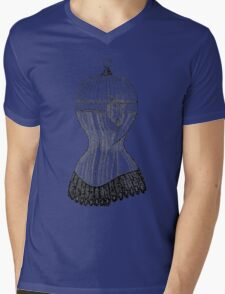 Anatomy of the Guarded Heart Mens V-Neck T-Shirt