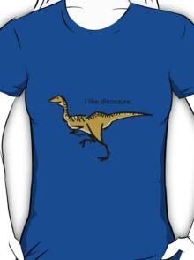 I like dinosaurs: Gallimimus T-Shirt