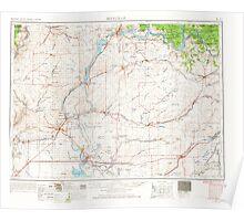 USGS Topo Map Washington State WA Ritzville 243472 1953 250000 Poster