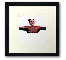 Peter Parkour Framed Print