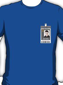 Torchwood Ianto Jones ID Shirt T-Shirt