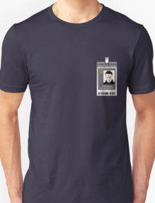 Torchwood Ianto Jones ID Shirt Unisex T-Shirt