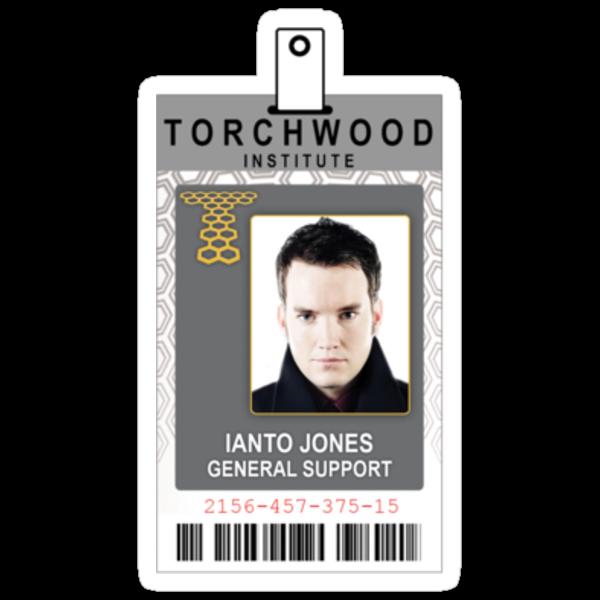 Torchwood Ianto Jones ID Shirt by zorpzorp