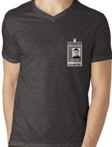 Torchwood Owen Harper ID Shirt Mens V-Neck T-Shirt