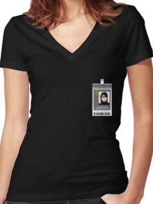 Torchwood Toshiko Sato ID Shirt Women's Fitted V-Neck T-Shirt