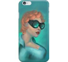Goggle Girl iPhone Case/Skin