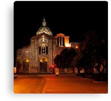 San Blas Cathedral - Cuenca, Ecuador Canvas Print