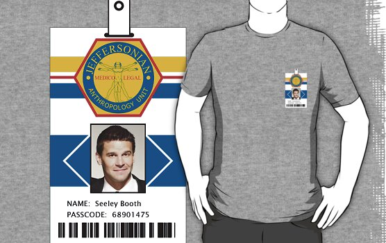 Bones ID Shirt Seeley Booth by zorpzorp