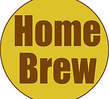 Home Brew Sticker Decal by deanworld