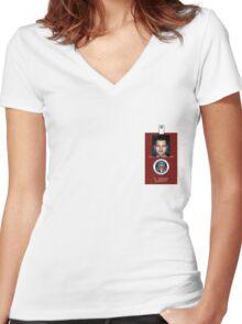 Fringe Division Peter Bishop Women's Fitted V-Neck T-Shirt