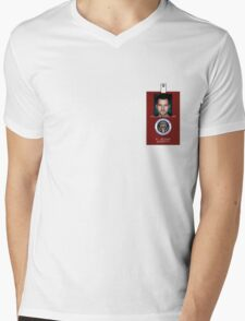 Fringe Division Peter Bishop Mens V-Neck T-Shirt