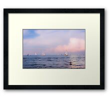 Canvas and Wings Framed Print