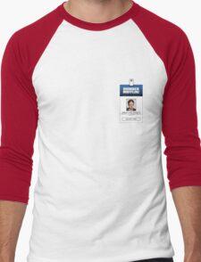 Dwight Schrute The Office ID Badge Shirt Men's Baseball ¾ T-Shirt