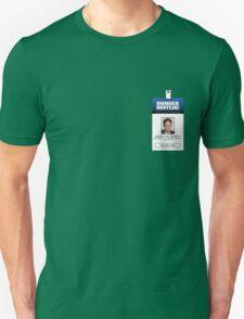 Dwight Schrute The Office ID Badge Shirt Unisex T-Shirt