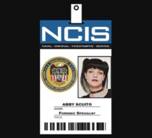 Abby Sciuto NCIS ID Badge Shirt T-Shirt