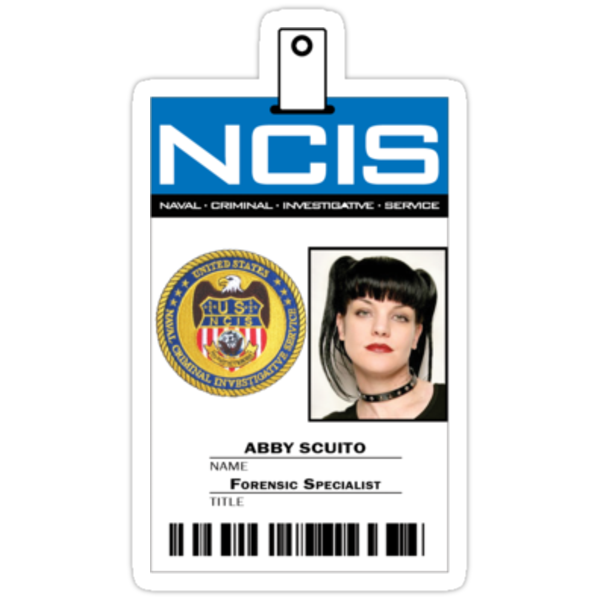 Abby Sciuto NCIS ID Badge Shirt by zorpzorp