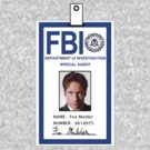 X-Files Fox Mulder ID Badge Shirt by zorpzorp