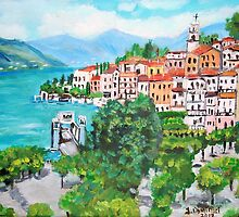 The Splendor of Bellagio by Teresa Dominici