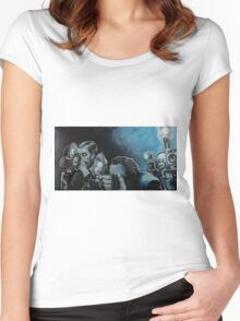 Ringside Press Women's Fitted Scoop T-Shirt