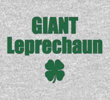 Giant Leprechaun T-shirt Irish Tee One Piece - Long Sleeve