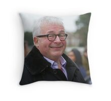 Christopher Biggins at the RHS Chelsea Flower show 2012 Throw Pillow