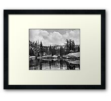 Ten Lakes Basin - Yosemite N.P. Framed Print