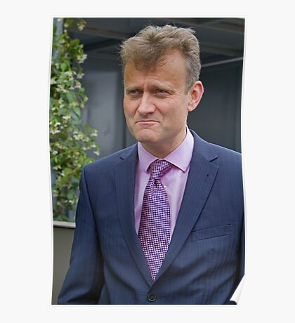 Hugh Dennis at the RHS Chelsea flower show 2012 Poster