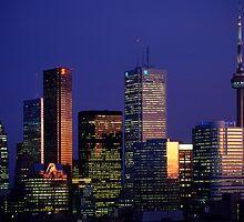 Toronto Aglow by Eva Kato