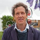 Monty Don at the RHS Hampton Court Palace flower show 2012 by Keith Larby