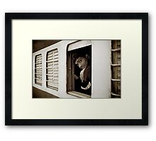 Take Care Framed Print