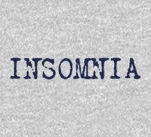 Insomnia - insomniac - can't sleep T-Shirt Kids Tee