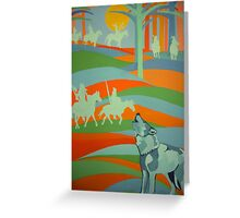Spirit Guide/Old Ones Watching Greeting Card