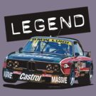 BMW E9 CSL BATMOBILE - Luigi/Castrol Group 2 'LEGEND' by Sharknose