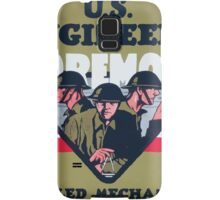 US Engineers Foremost Skilled mechanics technical specialists Samsung Galaxy Case/Skin