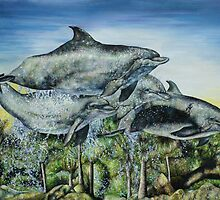 Dolphins by Jessica Miller