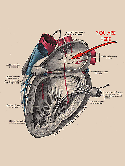 You Are Here <3 by KaliBlack
